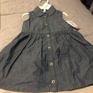 Carter's 12month jean dress with booties